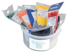 PRO POWER ACTKIT9-1000  Cable Tie Kit 1000 Pce